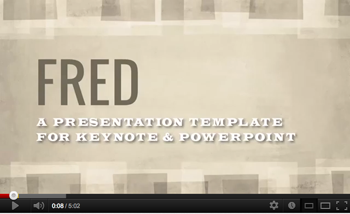 Fred Keynote Presentation Template