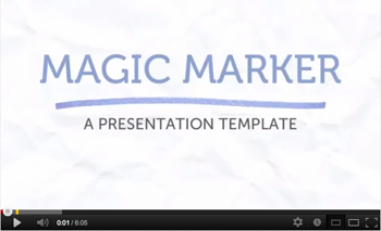 Magic Marker Keynote Template